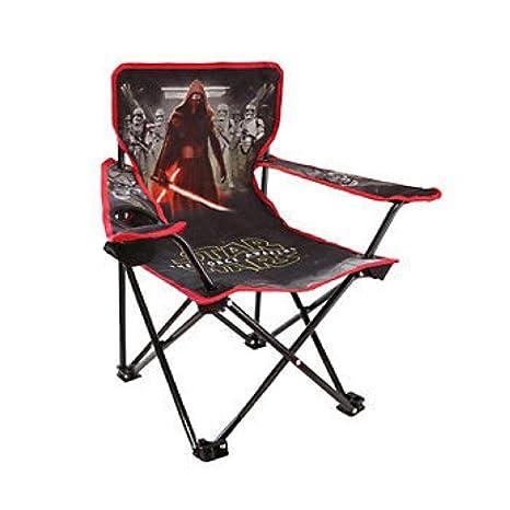 Disney Star Wars Kylo REN - Silla Plegable con portavasos y ...