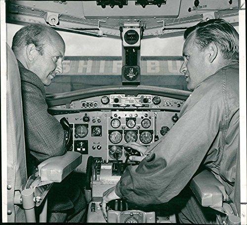 Vintage photo of E.M Donaldson and Mr. A. P. Moll.