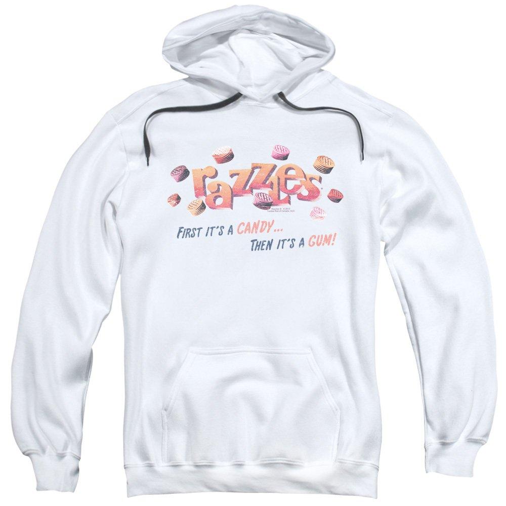 2Bhip Razzles nostaic süßigkeiten klassisches logo und phrase hoodie für Herren