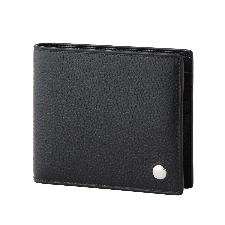 ダンヒル(dunhill) ボストン BOSTON L2V330A 2つ折り財布 ブラック 黒[並行輸入品] B00ZR42D8Q