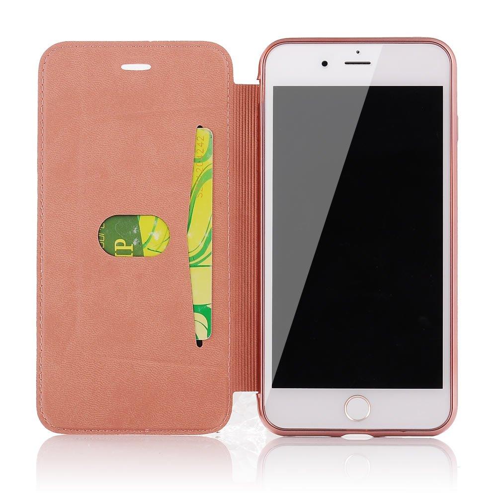 Sycode Flip H/ülle f/ür Galaxy S7,Luxus Schwarz Buchstil /Überzug Zur/ück Cover mit Pu Leder Brieftasche f/ür Samsung Galaxy S7-Schwarz