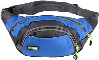 Taille ajustable Sport Pack poches Purse Ceinture Sac à glissière taille