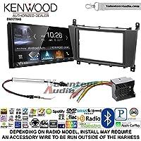 Volunteer Audio Kenwood DMX7704S Double Din Radio Install Kit with Apple CarPlay Android Auto Bluetooth Fits 2005-2007 Mercedes C Series