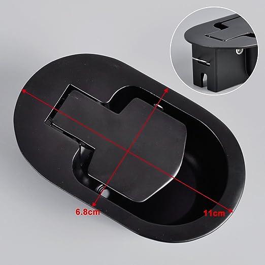 Duradera de sillón reclinable Sofá Sofá Silla Palanca de liberación del reemplazo de la manija de la manija del metal
