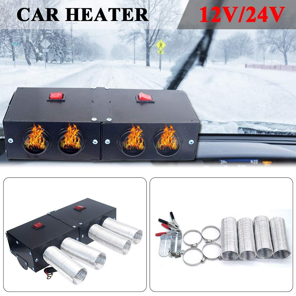 riscaldatore per auto kit di riscaldamento ad alta potenza Sunwan per sbrinamento e sbrinamento 12 V//24 V 500 W