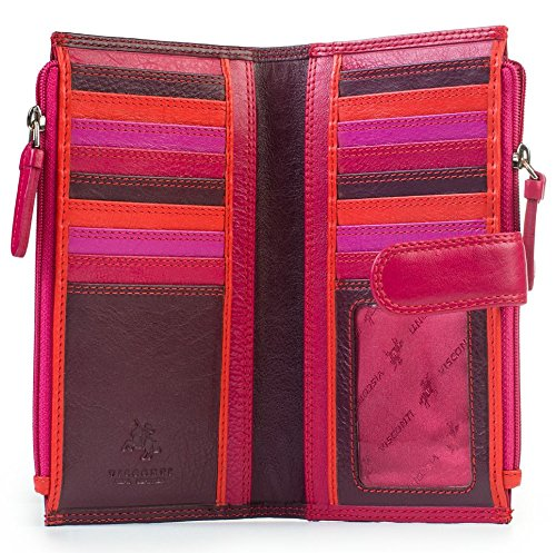 visconti-rb100-multi-color-womens-soft-leather-bifold-wallet-purse-clutch-plum