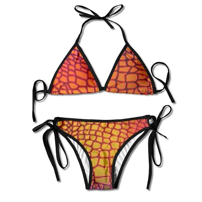 Amazon.com: Sara Nell para mujer Sexy cocodrilo piel traje ...