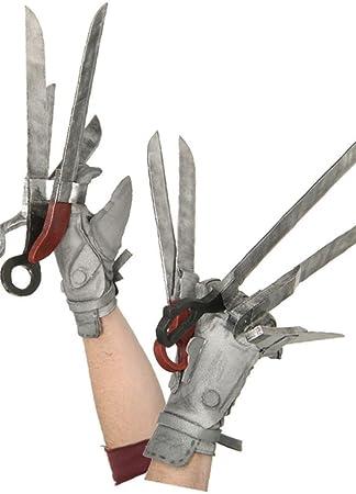 Edward Scissorhands Gloves (accesorio de disfraz): Amazon.es ...