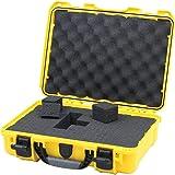 Nanuk 910 Waterproof Hard Case with Foam Insert - Yellow - Made in Canada