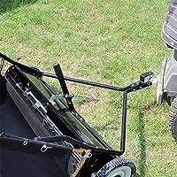 WilTec Barredora de césped 105 cm para segadora o Tractor jardín ...