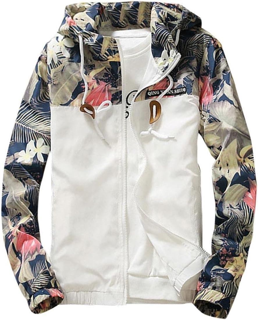 Men Slim Jackets Sweatshirt Jacket Blouse Overcoat Tops Casual Coat Outwear