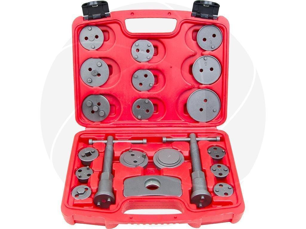 21Pcs Universal Caliper Wind Back Kit Disc Caliper Brake Caliper Service Tool