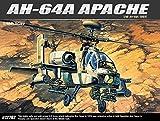 Academy Military 1/48 Plastic Model Kit AH-64A MSIP Apache Helicopter 12262 NIB /ITEM#G839GJ UY-W8EHF3131788
