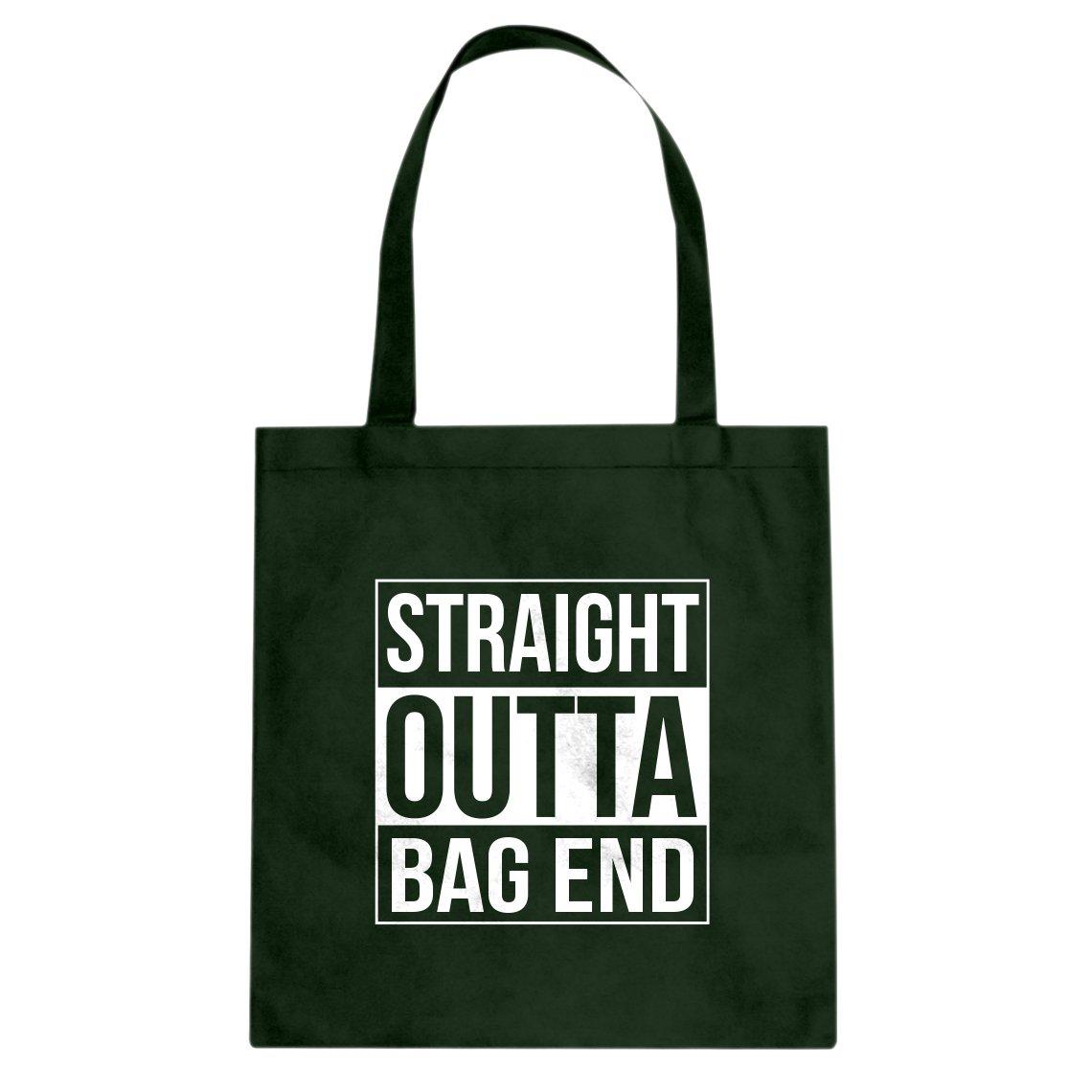Indica Plateau Straight Outta Bag End Cotton Canvas Tote Bag