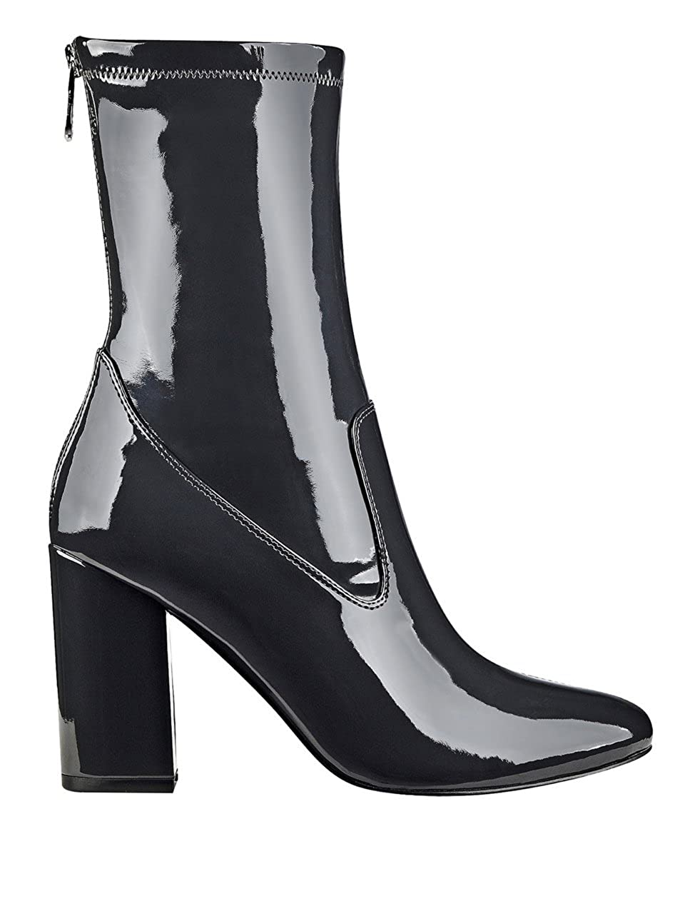 Guess Frauen Pumps Pumps Pumps rund Fashion Stiefel Grau Groesse 6.5 US  37.5 EU 48cc9d