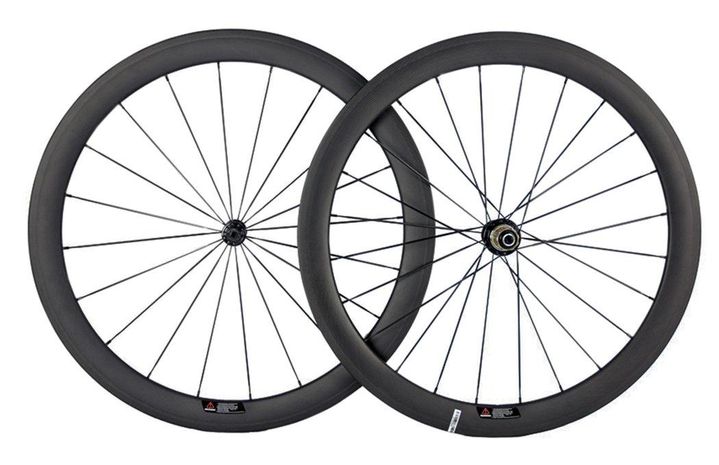 Queen Bike Carbon Fiber Road Bike Wheels 50mm Clincher Wheelset 700c Racing Bike Wheel (Campagnolo Body)