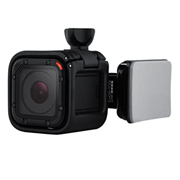 GoPro ARSDM-001 - Soporte Giratorio para GoPro Hero Session, Color Negro