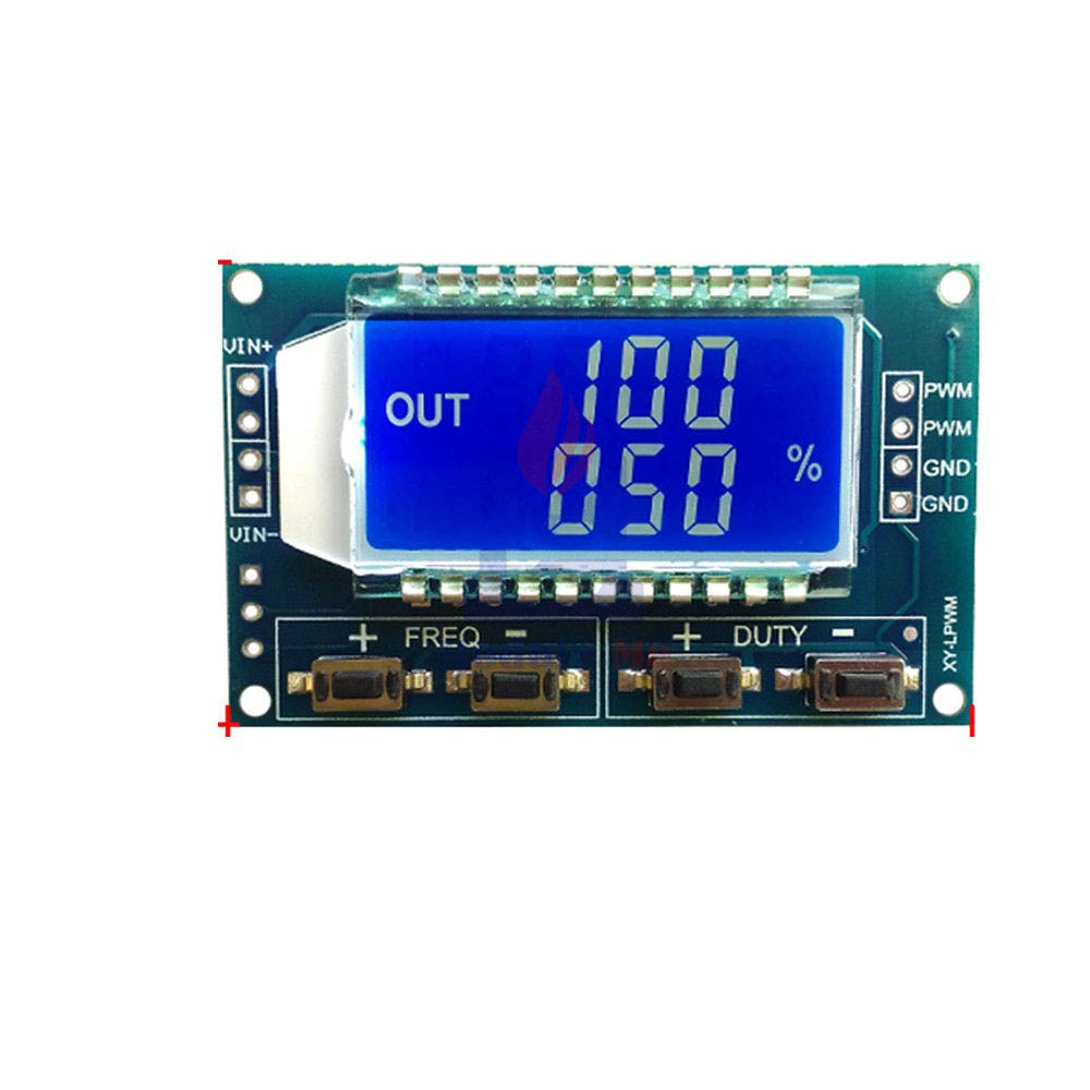 Signal Generator PWM Pulse Frequency Duty Cycle Adjustable Module LCD PWM Board