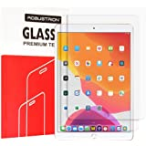 Robustrion Pack of 2 Anti-Scratch 9H Hardness Tempered Glass Screen Protector for Apple iPad 10.2 inch 7th Generation 2019 [Compatible with Apple Pencil]