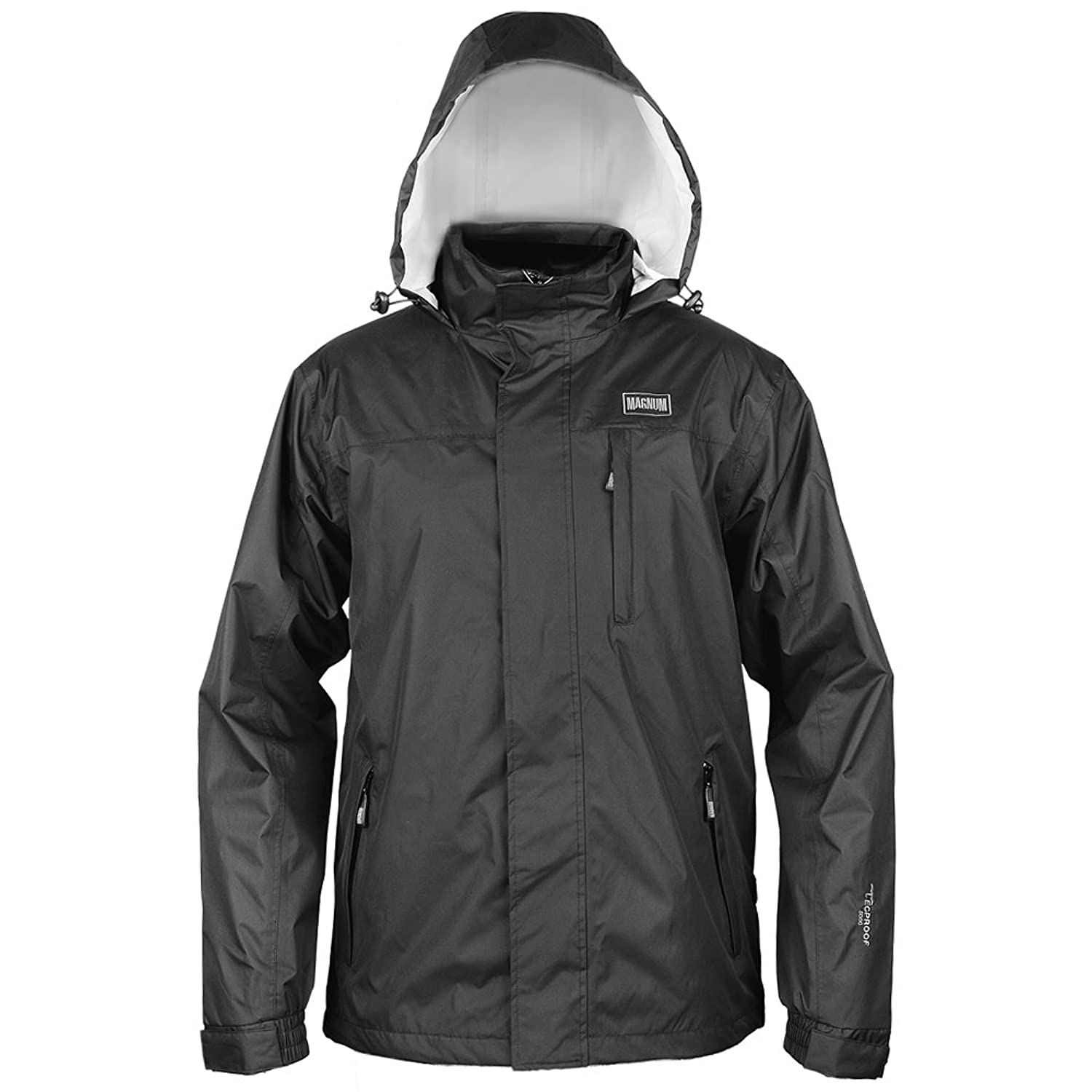 Mens Magnum Dragon Waterproof and Breathable Lightweight Black Jacket Sizes Small - XXX Large