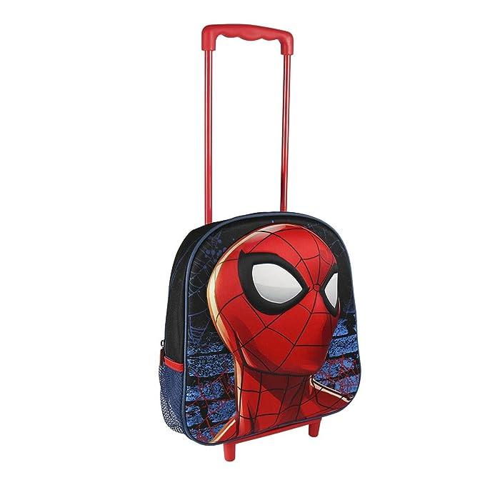 Marvel Spiderman 2100001957Chariot Voyage avec 31 cm sac à dos junior 3D p754eB
