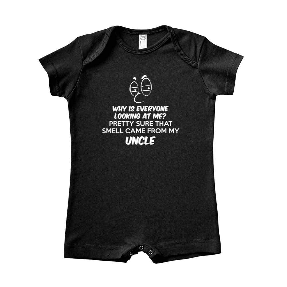 Mashed Clothing Pretty Sure That Smell Came from My Uncle Baby Romper