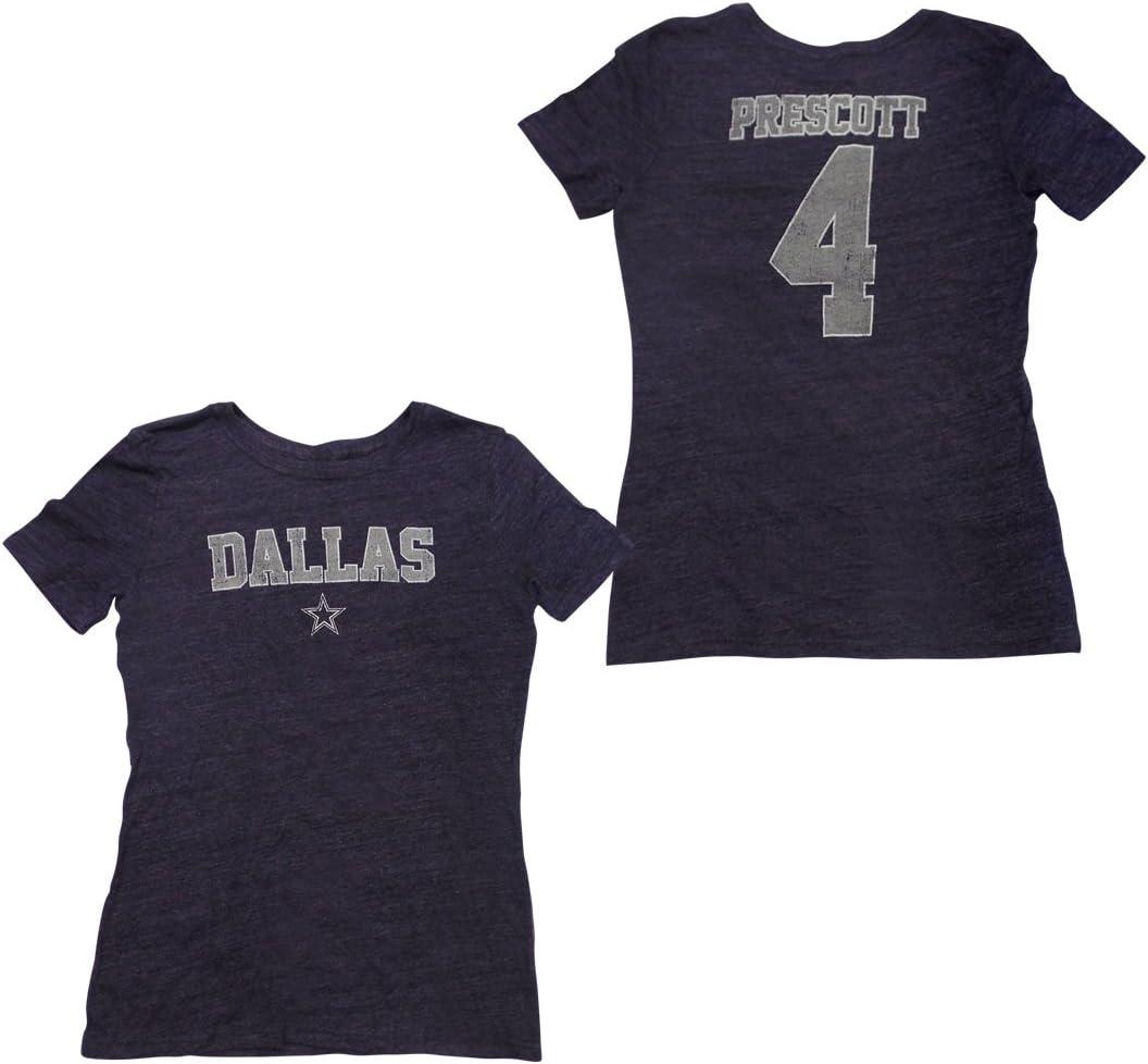 Dak Prescott Dallas Cowboys para mujer azul marino llevar ...
