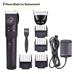 Persuper Rechargeable Professional Dog Clippers