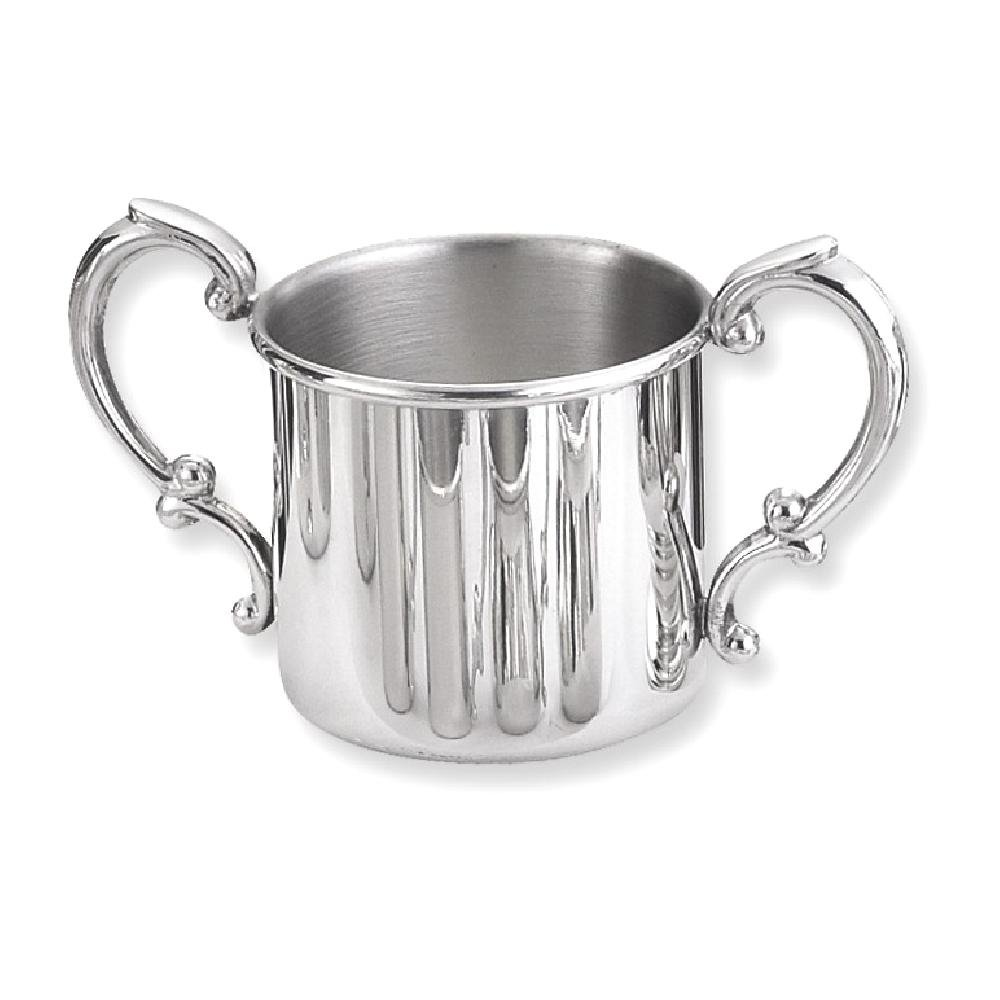 ICE CARATS Pewter Double Handle Baby Cup