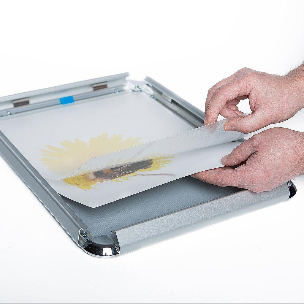 Klapprahmen Plakatrahmen Posterrahmen DIN A1 Rondo 25 mm Profil ...
