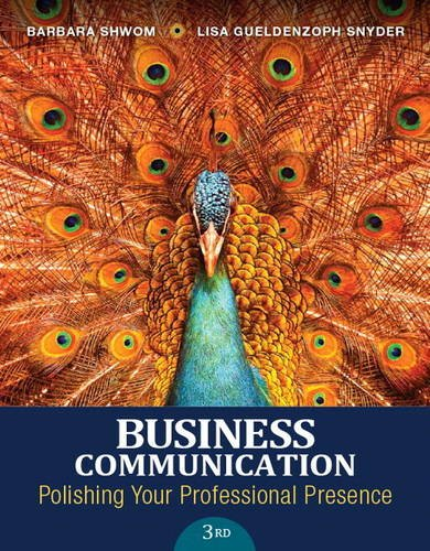 Price comparison product image Business Communication: Polishing Your Professional Presence Plus MyBCommLab with Pearson eText -- Access Card Package (3rd Edition)
