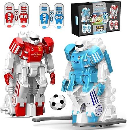 SMUOO El galardonado Juego de fútbol Robot de Juegos de Fiesta, Juego de Mesa fútbol de