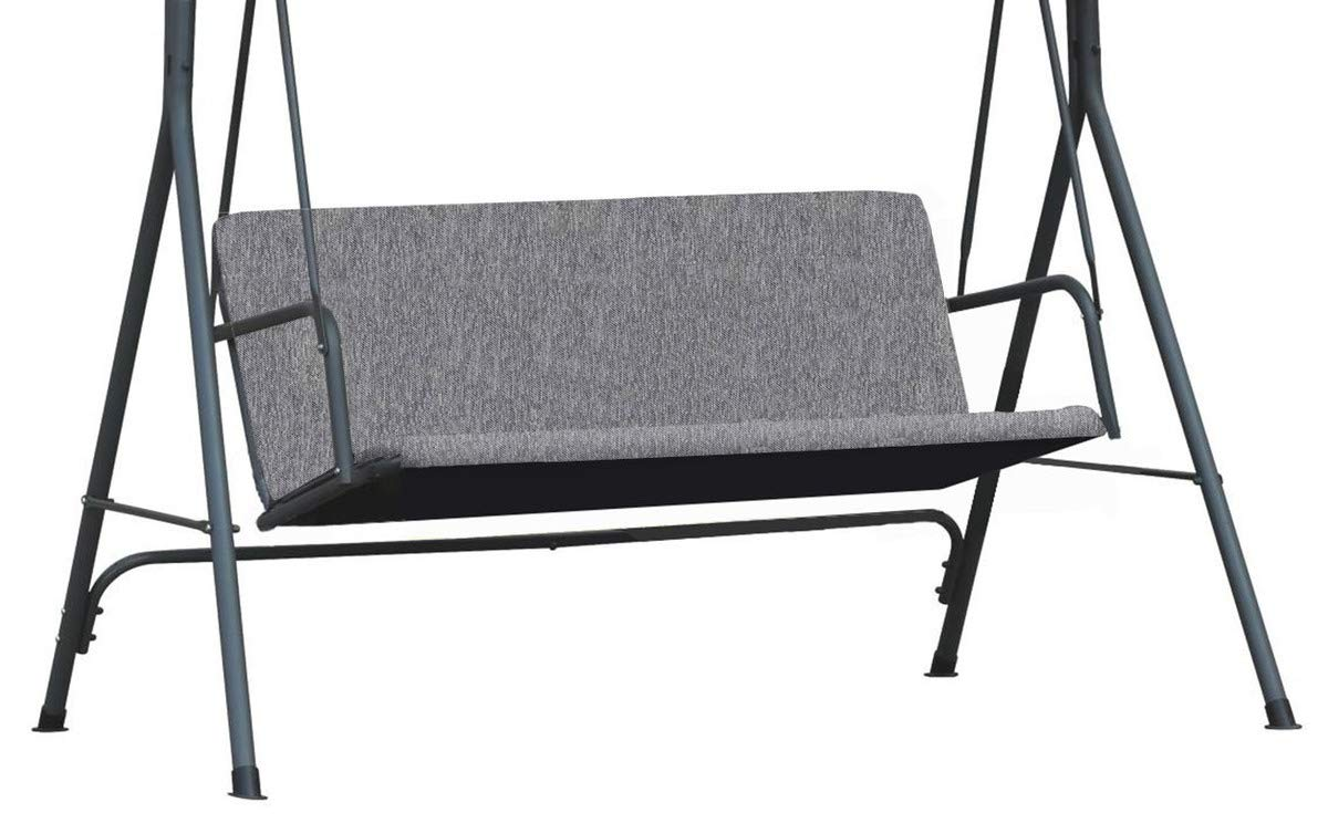 101 Copertura Universale per i sedili da Giardino Ricambio Ricambi coprendo sedili Copertura Superiore baldacchino Dimensione 100 x 138 cm Grafite