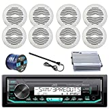 Best JVC Amps For Cars - JVC KD-X33MBS Marine Boat Radio Stereo Player Receiver Review