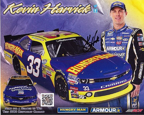 autographed-2013-kevin-harvick-33-hungry-man-racing-n-wide-8x10-signed-nascar-hero-card-w-coa