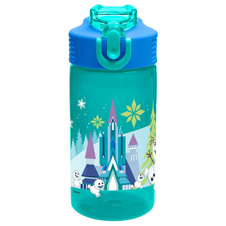 Zak Designs FZNU-T120 16 oz. Water Bottle with Straw, Multicolored