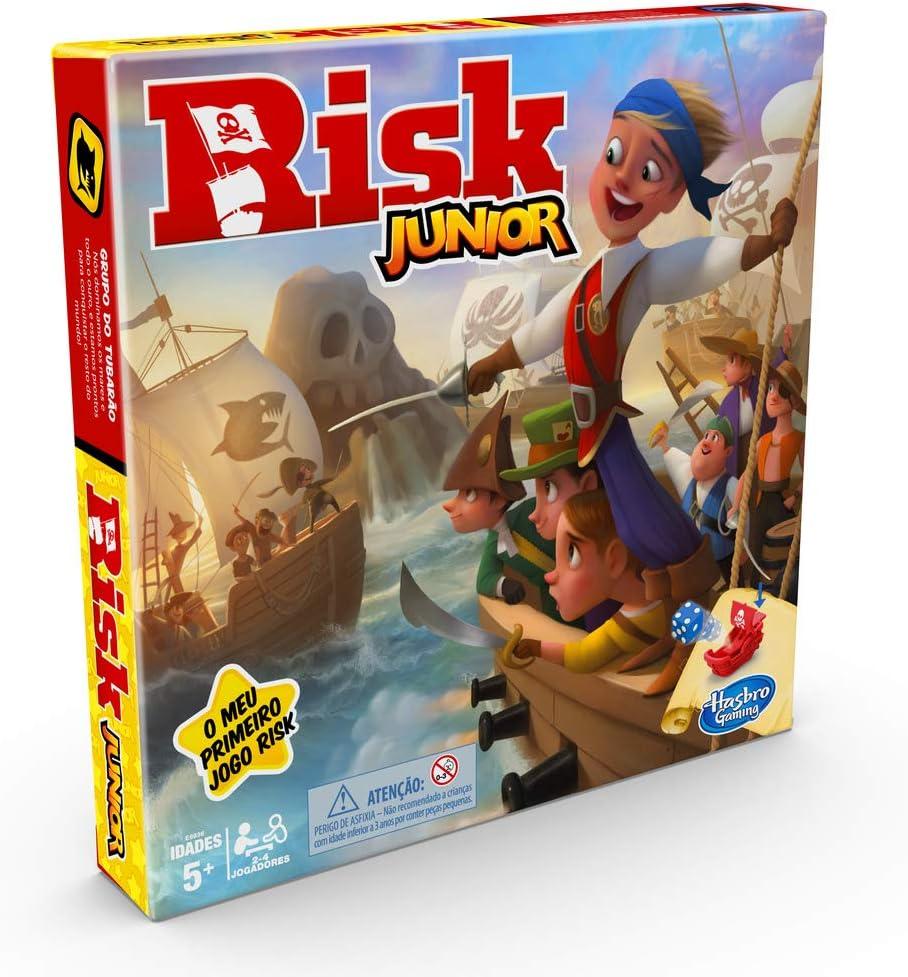 Hasbro Gaming- Risk Junior (E6936190): Amazon.es: Juguetes y juegos