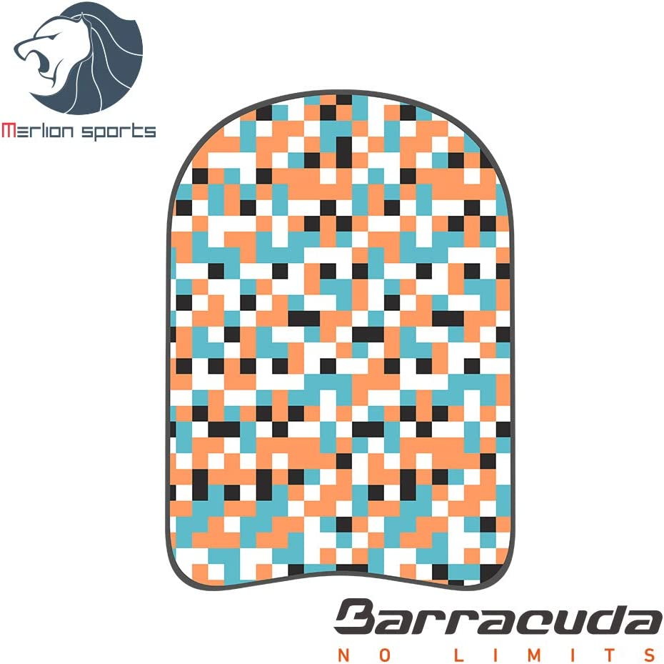 Barracuda Swimming Kickboard AQUAPOP Mosaic Chlorine Proof for Adults Eva Swim Training aid Floating Buoy