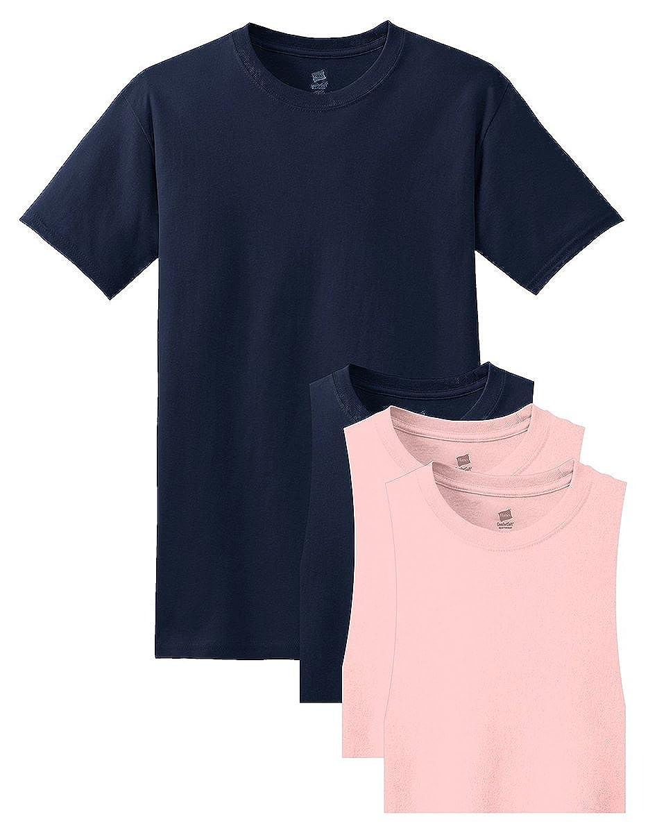 Hanes Men's ComfortSoft T-Shirt (Pack of 4) | Amazon.com