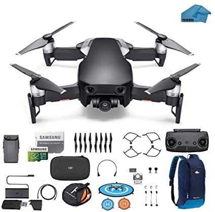 a9d8495ea93 Amazon.com: DJI Mavic Air Drone - Quadcopter with 32gb SD Card - 4K  Professional Camera Gimbal - Bundle - Kit - with Must Have Accessories  (Onyx Black): ...