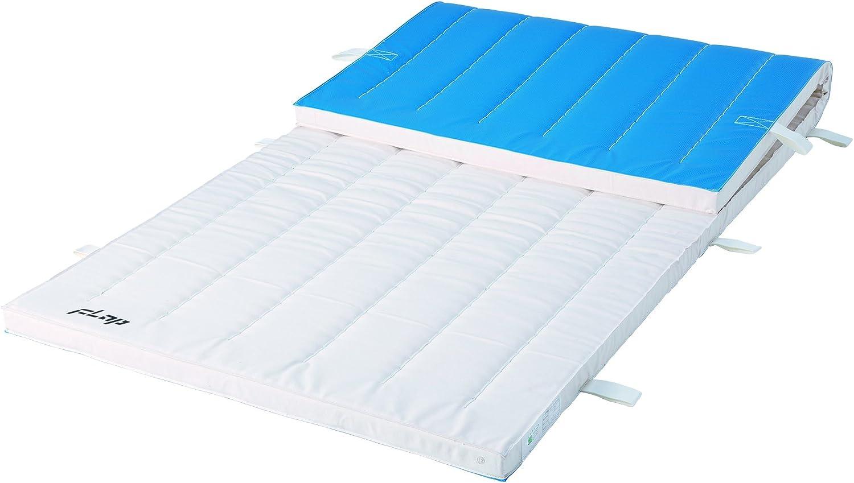 FLAP(フラップ) 体操マット オールスポンジマット抗菌 ミラースポンジ積層型(スベラーズ付き) 90×180×5(cm) F401