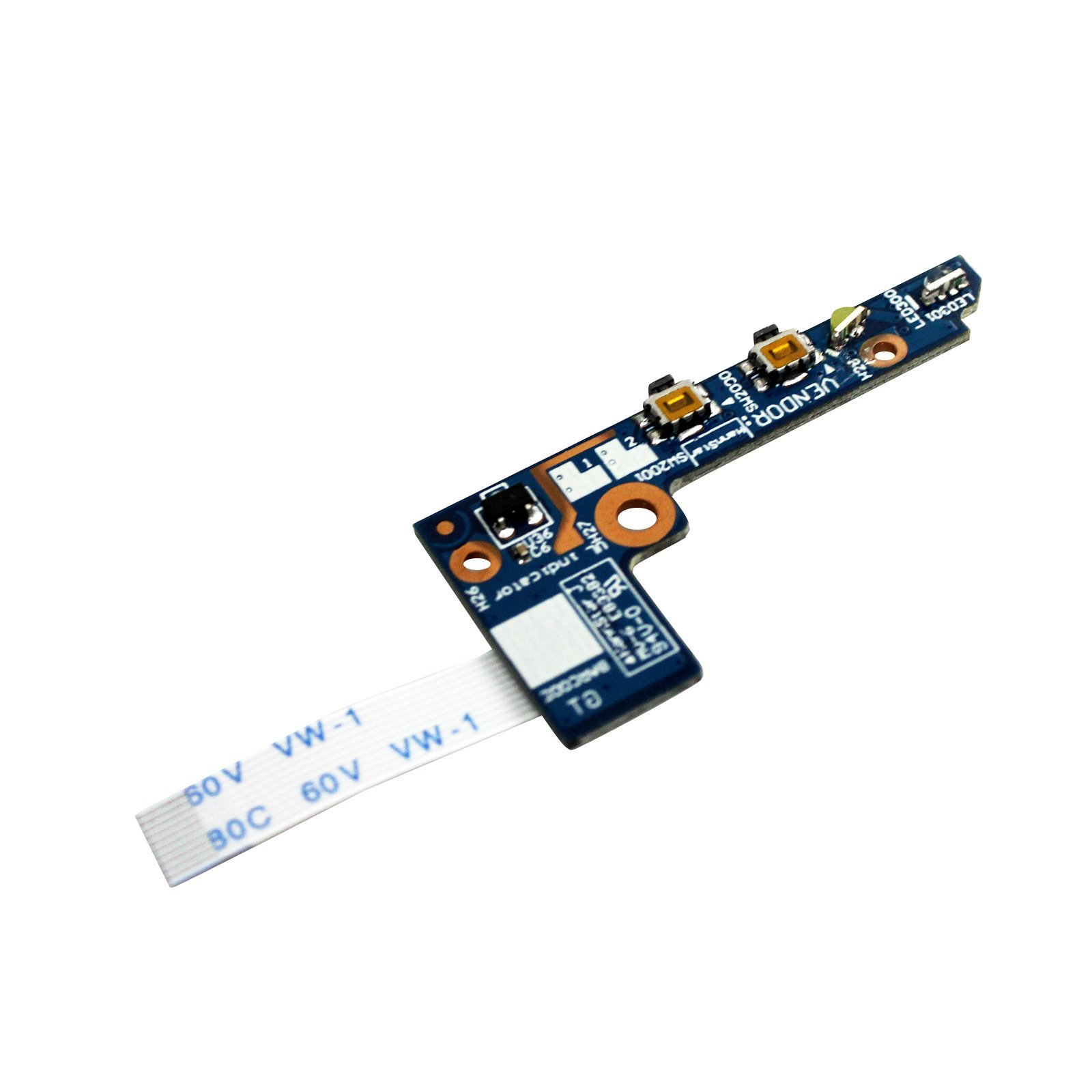 GinTai Power Button Board Cable NS-A201 Replacement for Lenovo Yoga 2 11 20332 20428 59417911 43508112001 90005666 by GinTai (Image #3)