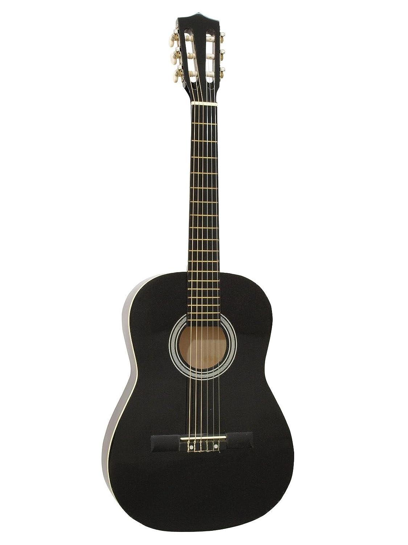 DIMAVERY AC-303 Klassik-Gitarre 3/4, schwarz 26242035