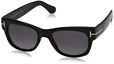 7547bc355186 Image Unavailable. Image not available for. Color  TOM FORD FT0058 CARY 01D  - shiny black ...