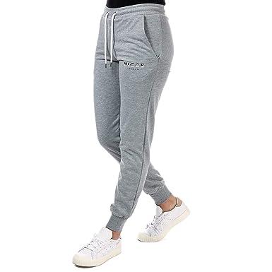 Nicce Slice - Pantalones de chándal para Mujer, Color Gris Claro ...