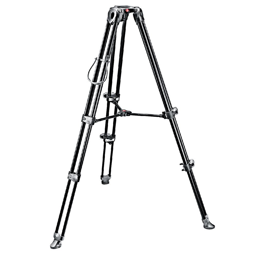 Manfrotto MVT502AM Video Tripod with Telescopic Twin Legs...