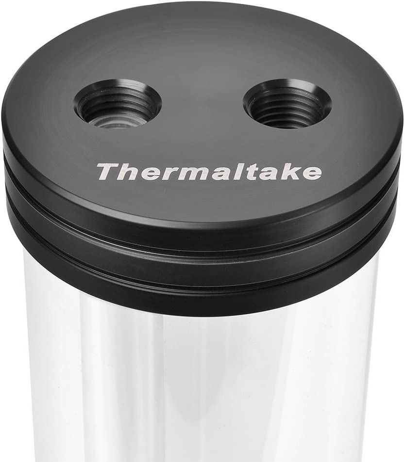 Thermaltake Pacific DIY LCS PR22 Pump//Reservoir Combo 3-Port G 1//4 Thread Tt LCS Certified Pom Pmma Cooling CL-W081-PL00BL-A