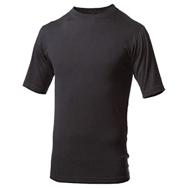 b4792bd852c Amazon.com  Minus33 Merino Wool Men s Algonquin Lightweight Short Sleeve  Crew  Clothing
