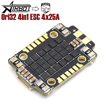Airbot Ori32 4in1 ESC 4in1 ESC with 20x20 mm Mounting Holes Supports DSHOT  1200, BLHELI32 firmware for FPV Racing Quadcopter LEACO