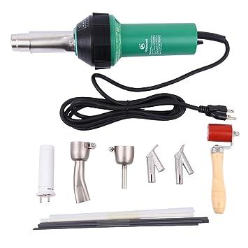 TryESeller Pistola de aire caliente pistola de plástico 1500W pistola de soldadura de vinilo: Amazon.es: Bricolaje y herramientas